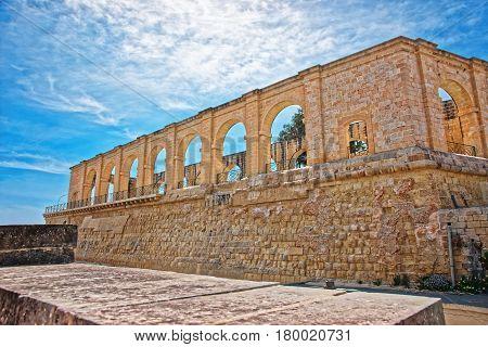 Upper Barracca Gardens Of St Peter Paul Bastion Valletta Malta