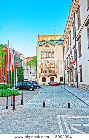 Building Of Krakow Municipal Office