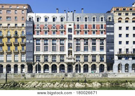 Old Town Of Bilbao, Basque Country (spain)