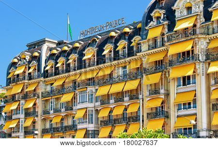Luxury Hotel In Geneva Lake Riviera In Montreux