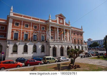 Custom House In Cadiz