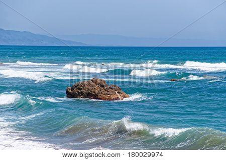 Mediterranean Sea Of Marbella