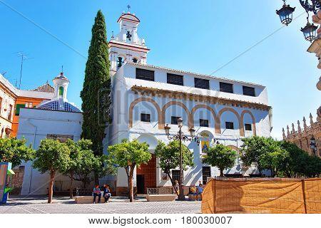 Monastery Encarnacion On Plaza De La Virgen In Seville