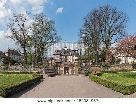 Bolongaro Palace in the Bolongaro in Frankfurt Hoechst