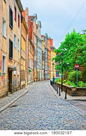 Street In Old Town In Wroclaw