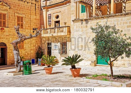 Misrah Mesquita Square In Mdina