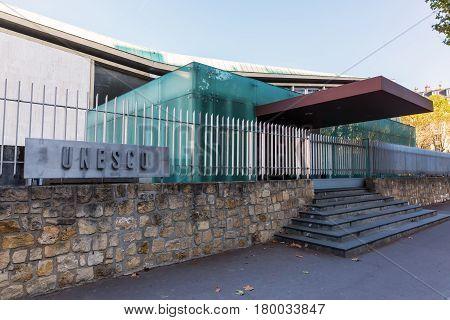 Unesco Headquarter In Paris, France