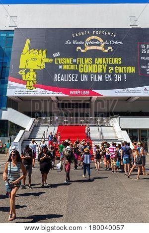 Palais Des Festivals Et Des Congres In Cannes