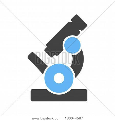 Microscope, laboratory, research icon vector image. Can also be used for chemistry. Suitable for use on web apps, mobile apps and print media.