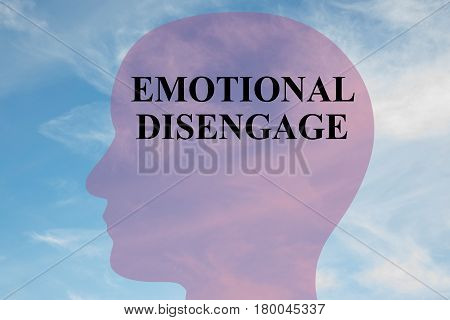 Emotional Disengage - Mental Concept