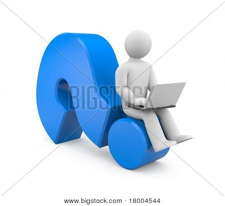 Seeking answer. Image contain clipping path