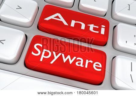 Anti Spyware Concept