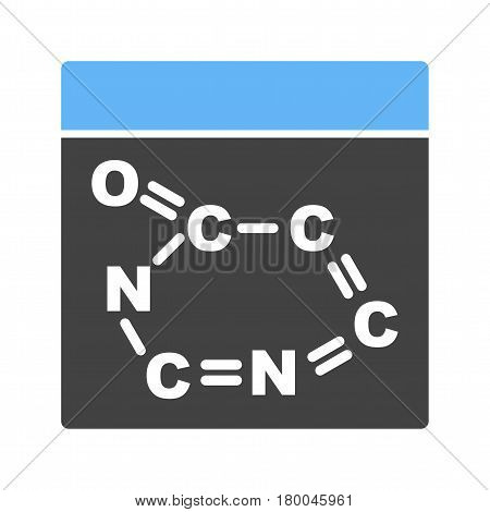 Chemical, formula, periodic icon vector image. Can also be used for chemistry. Suitable for mobile apps, web apps and print media.