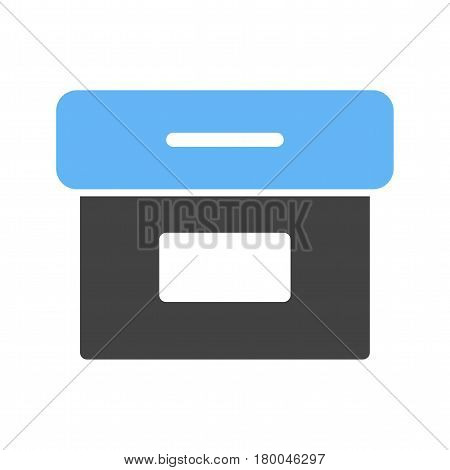 Folder, archive, digital icon vector image. Can also be used for web interface. Suitable for mobile apps, web apps and print media.