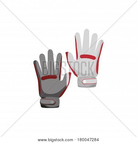 golf gloves isolated icon vector illustration design