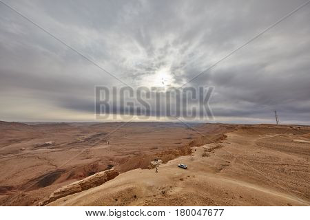 The Negev Mountain Desert View