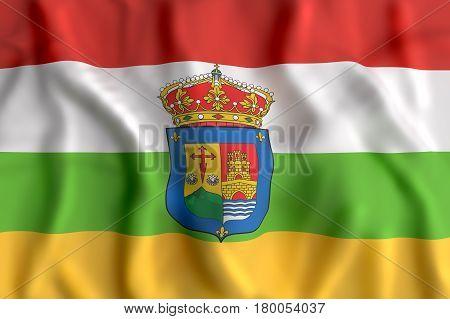 La Rioja Flag Waving