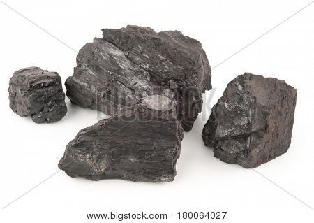 Big pieces of coal
