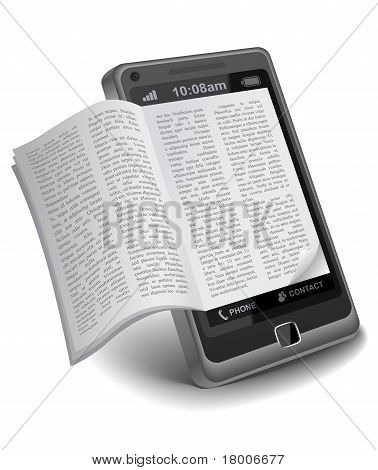 ebook on Smartphone