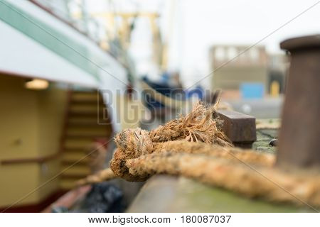 Berthed Fishing Boat