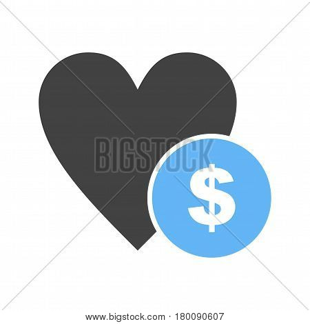 Donation, funding, help icon vector image. Can also be used for community. Suitable for web apps, mobile apps and print media.