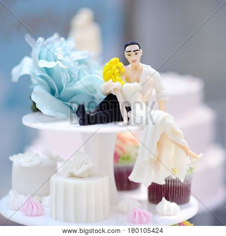 Funny Figurines Bride And Groom
