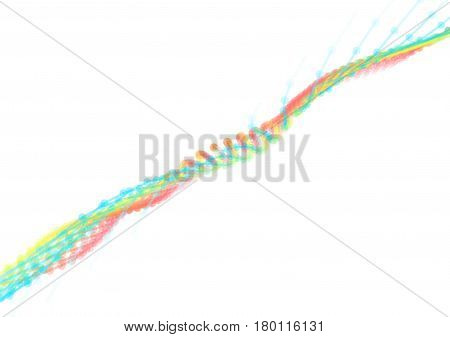 Abstract technology and engineering background with original organic elements. Vector illustration