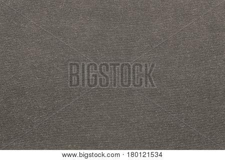 background and texture of knitted or woolen fabric of monotonous dark beige color