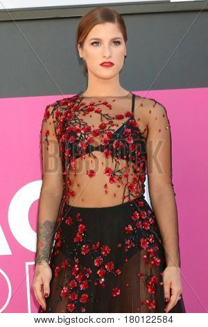 LAS VEGAS - APR 2:  Cassadee Pope at the Academy of Country Music Awards 2017 at T-Mobile Arena on April 2, 2017 in Las Vegas, NV