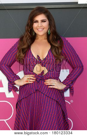 LAS VEGAS - APR 2:  Hillary Scott at the Academy of Country Music Awards 2017 at T-Mobile Arena on April 2, 2017 in Las Vegas, NV