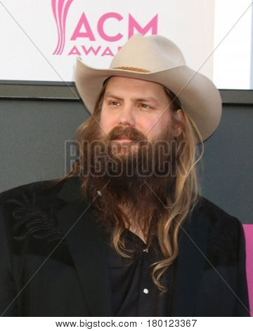 LAS VEGAS - APR 2:  Chris Stapleton at the Academy of Country Music Awards 2017 at T-Mobile Arena on April 2, 2017 in Las Vegas, NV