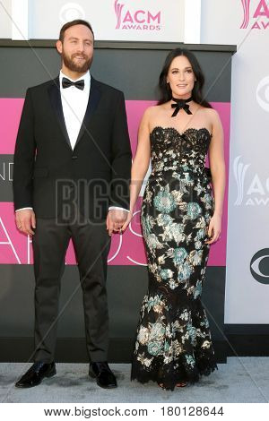 LAS VEGAS - APR 2:  Ruston Kelly, Kacey Musgraves at the Academy of Country Music Awards 2017 at T-Mobile Arena on April 2, 2017 in Las Vegas, NV