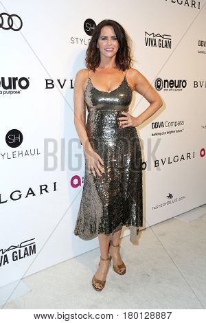 LOS ANGELES - FEB 26:  Amy Landecker at the Elton John Oscar Viewing Party 2017 at the City of West Hollywood Park on February 26, 2017 in West Hollywood, CA