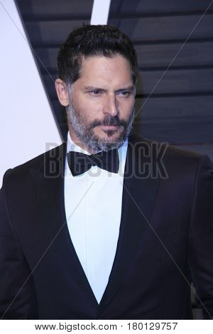 LOS ANGELES - FEB 26:  Joe Manganiello at the 2017 Vanity Fair Oscar Party  at the Wallis Annenberg Center on February 26, 2017 in Beverly Hills, CA