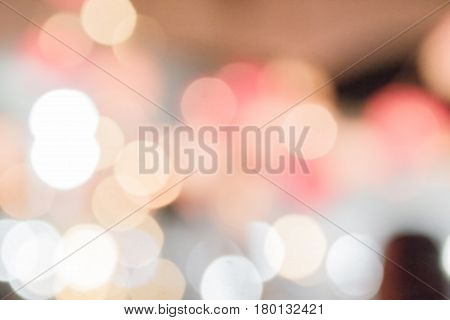 Bokeh with multi colors Festive lights bokeh background Bokeh light vintage background Abstract colorful defocused Soft focus