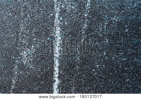 Grunge Texture of blue smudged Powder Product with Scratches