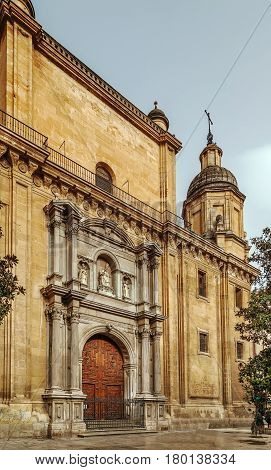 Granada Cathedral is a Roman Catholic church in the city of Granada Spain