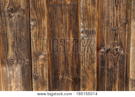 Old vintage planked wood texture background. Pattern created by the weather.