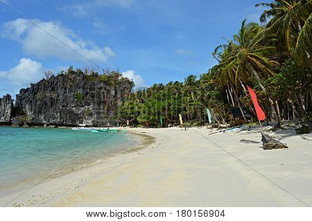 El Nido is an island paradise on the island Palwan