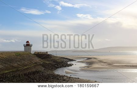Burry Port lighthouse taken on the first morning of spring