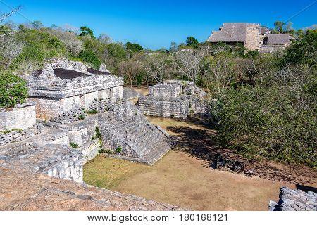 Jungle And Ruins Of Ek Balam