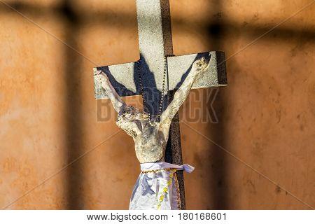 Jesus Statue Closeup