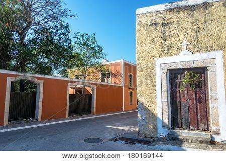 Street In Valladolid, Mexico