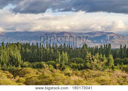 Patagonian Lanscape Scene, Santa Cruz, Argentina
