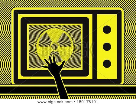 Keep Kids away from Microwave Oven. Teach your kids about the danger of microwave devices
