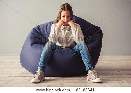 Teenage Girl Having Trouble