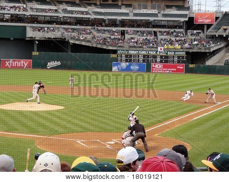 Pitcher Throws Back To First To Hold Runner