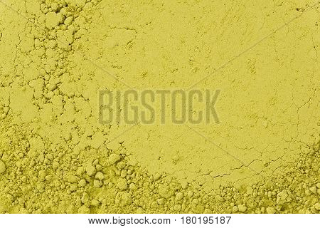 Background texture of matcha also called fine powder tea