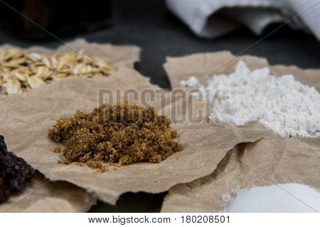 Brown Sugar And Other Small Amounts Of Ingredients