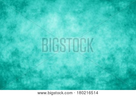 Abstract teal background, mint green texture, turquoise pattern, aqua color party invitation, flyer or poster design